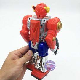 Hộp đồ chơi robot Fighter IV dùng pin có đèn nhạc
