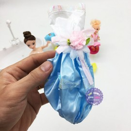Hộp đồ chơi bồn tắm xịt nước cho búp bê Lelia & búp bê nhí dùng pin