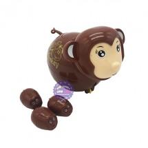 Hộp đồ chơi con khỉ đẻ con vặn cót