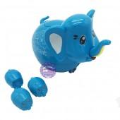 Hộp đồ chơi con voi đẻ con vặn cót