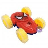 Đồ chơi xe ô tô người nhện nhào lộn 360 độ chạy trớn