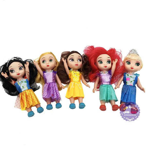 Hộp đồ chơi bộ 5 công chúa Disney