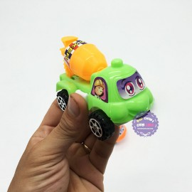 Bộ đồ chơi 4 xe công trình mini chạy trớn