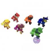 Hôp đồ chơi 6 chú chó cứu hộ Paw Patrol đèn & đạn hít