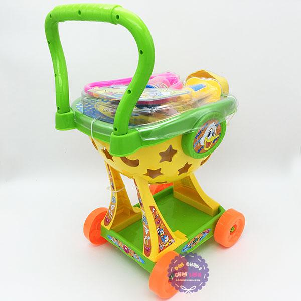 Đồ chơi xe đẩy dụng cụ y tế vịt Donald Cholo Blóc