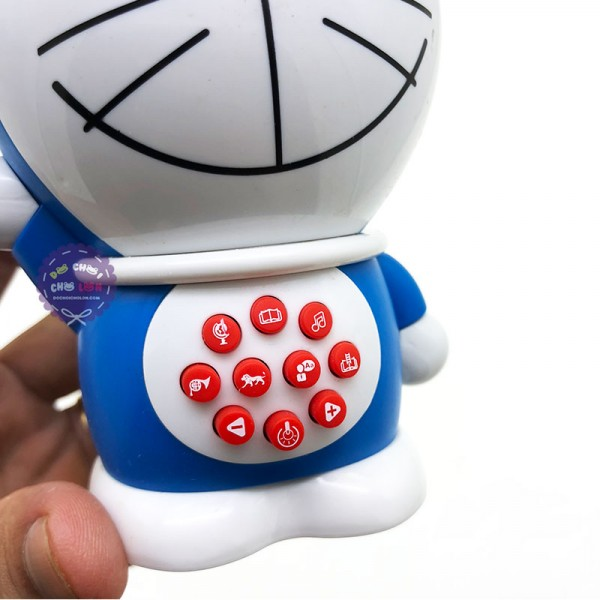 Hộp đồ chơi mèo Doraemon kể chuyện hát nhạc tiếng Việt 300