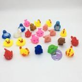 Bộ đồ chơi các loại thú chít 24 con túi lưới