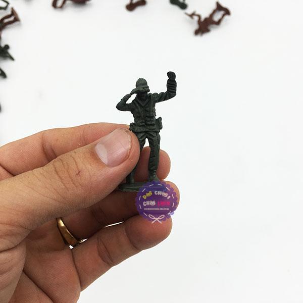 Đồ chơi mô hình quân sự lính nhựa Combat Force