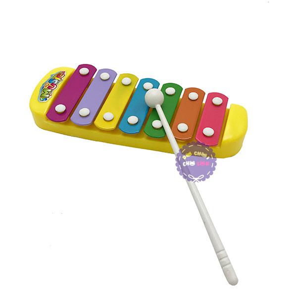 Đồ chơi đàn gõ Xylophone 7 thanh bằng sắt