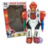 Hộp đồ chơi robot Space Warrior dùng pin có đèn nhạc 30921