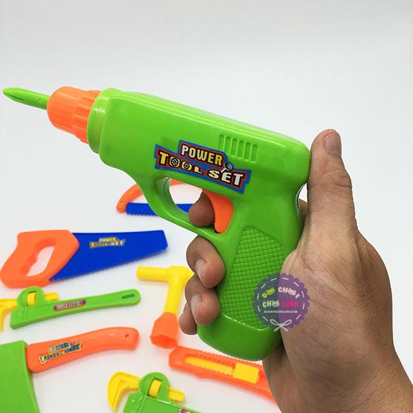 Bộ đồ chơi dụng cụ sửa chữa 9 món Tool Set bằng nhựa