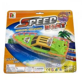 Vỉ đồ chơi tàu cano chạy pin dưới nước Speed Boat 3303A1