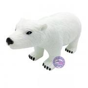 Đồ chơi mô hình gấu bắc cực trắng bằng nhựa mềm