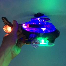 Hộp đồ chơi máy bay trực thăng chiến đấu chạy pin có đèn nhạc