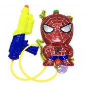 Bộ đồ chơi súng thụt nước & ba lô hình người nhện Spider Man