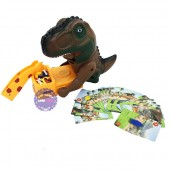 Hộp đồ chơi gắp trộm xương khủng long cỡ lớn dùng pin 338-71