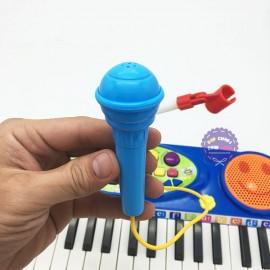 Hộp đồ chơi đàn Organ 37 phím có chân & micro dùng pin 3702A