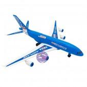 Đồ chơi mô hình máy bay dân dụng bằng nhựa chạy trớn 380A