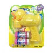 Vỉ đồ chơi súng thổi bong bóng xà phòng vịt 2 bình bóp tay