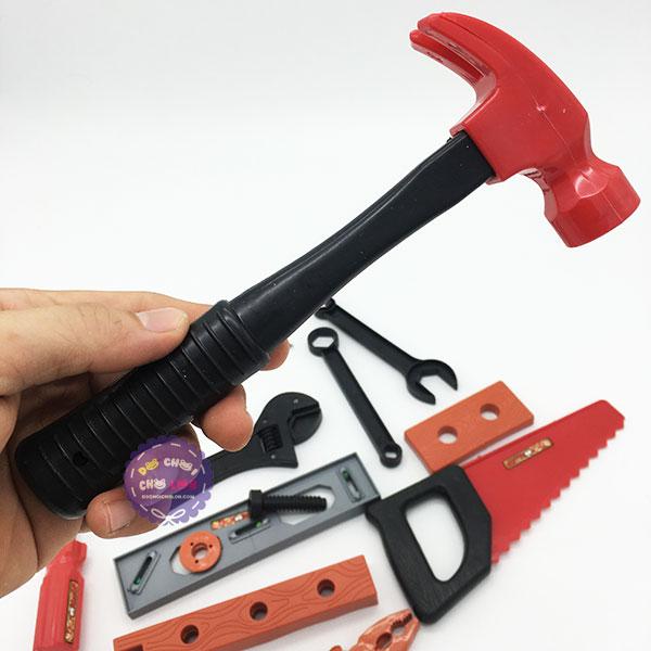 Bộ đồ chơi dụng cụ thợ mộc