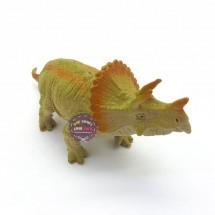 Mô mình khủng long tê giác 3 sừng CHÍT Triceratops bằng nhựa