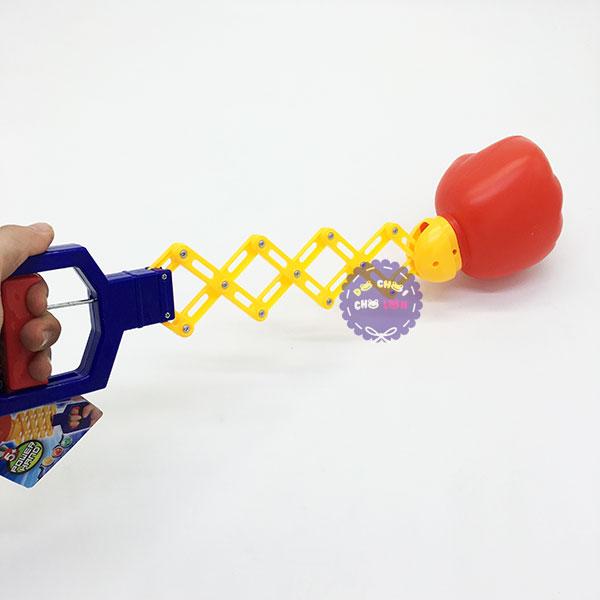 Đồ chơi quả đấm lò xo bóp tay bằng nhựa 400