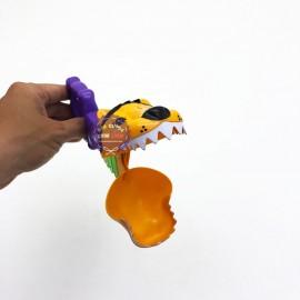 Đồ chơi lò xo bóp tay đầu sư tử bằng nhựa 428