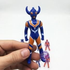 Vỉ đồ chơi bộ 8 siêu nhân điện quang Ultraman mini bằng nhựa