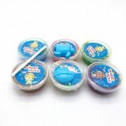 Bộ 6 hũ Slime hạt nhựa và khuôn chất nhờn ma quái