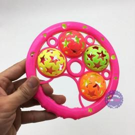Đồ chơi lục lạc lắc 4 banh bằng nhựa