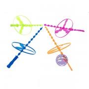 Bộ đồ chơi 4 cây chong chóng rút 3 cánh bằng nhựa