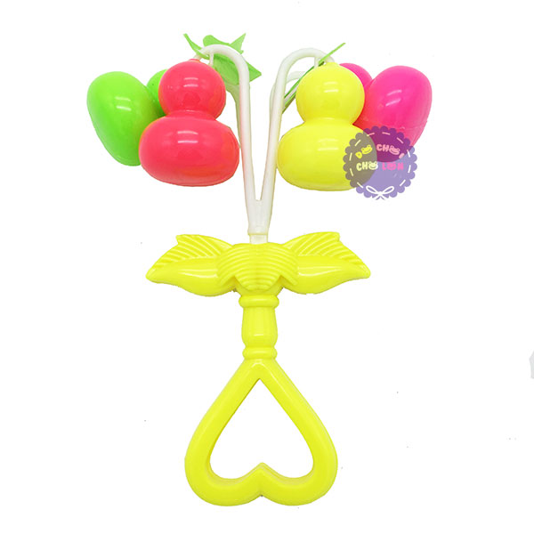 Đồ chơi xúc xắc lắc 4 quả hồ lô bằng nhựa