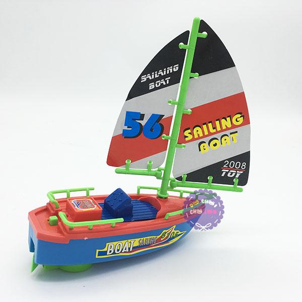 Vỉ đồ chơi thuyền buồm chạy pin dưới nước 2008