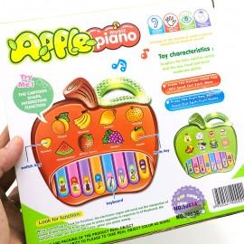 Hộp đồ chơi đàn organ táo trái cây có nhạc đèn 5003AB