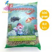 Thức ăn cho cá cảnh ShangHai hạt LỚN 500g