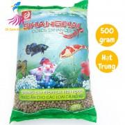 Thức ăn cho cá cảnh ShangHai hạt TRUNG 500g