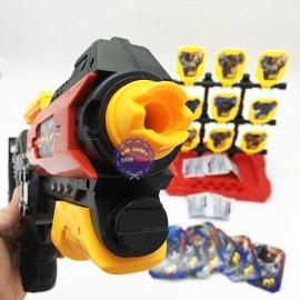 Hộp đồ chơi súng bắn đạn xốp đạn nước 9 bia & mắt kiếng 518B