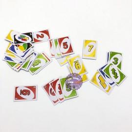 Compo 2 bộ bài Uno mini bằng giấy cứng (51 lá/bộ)