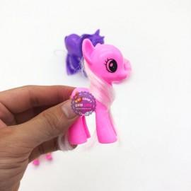 Vỉ đồ chơi 2 chú ngựa Pony & búp bê cánh bướm 539D1