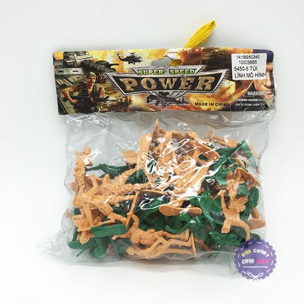 Đồ chơi mô hình quân sự lính nhựa War Force Set