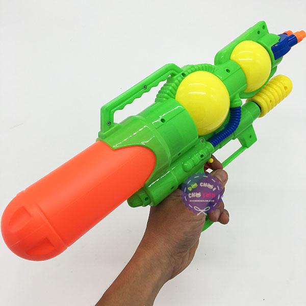 Đồ chơi súng nước áp lực 3 nòng nhỏ