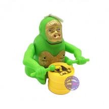 Đồ chơi khỉ đánh trống mini chạy bằng dây cót 555B