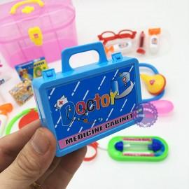 Hộp đồ chơi tập làm bác sĩ 17 món phụ kiện bằng nhựa