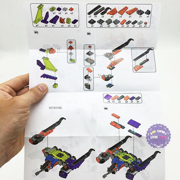 Bộ 6 hộp đồ chơi lắp ráp siêu anh hùng Super Heroes 6008