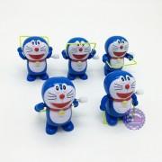 Bộ đồ chơi 5 chú Doraemon nhảy dây vặn cót mini