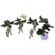 Đồ chơi mô hình lính nhựa máy bay quân sự Combat Set