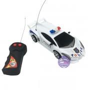 Hộp đồ chơi xe hơi cảnh sát Laborghini điều khiển 2 kênh chạy pin