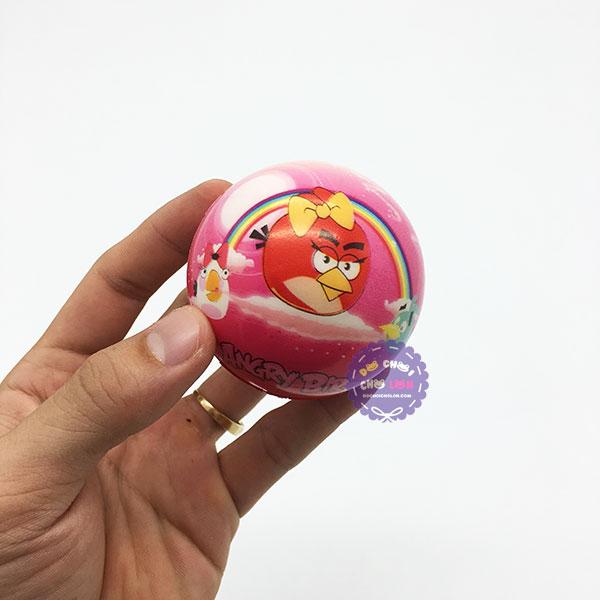 Đồ chơi banh tưng mềm hình Angry Bird