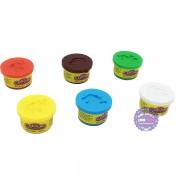 Bộ 6 hũ đồ chơi đất sét nặn Colour Dough
