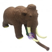 Đồ chơi mô hình voi ma mút thời tiền sử bằng nhựa mềm có nhạc